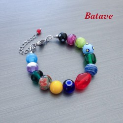copy of Bracelet en verre...